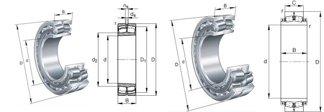 BS2-2206-2CS/V Bearing 3D